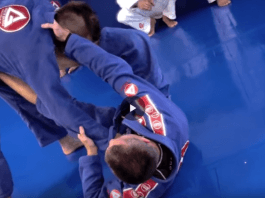 Omoplata From Spider Guard