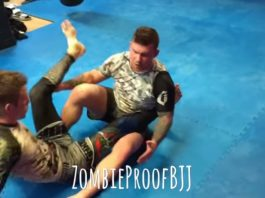 Hip Clamp Leg Drag Countering Ashi Garami Escape Attempt