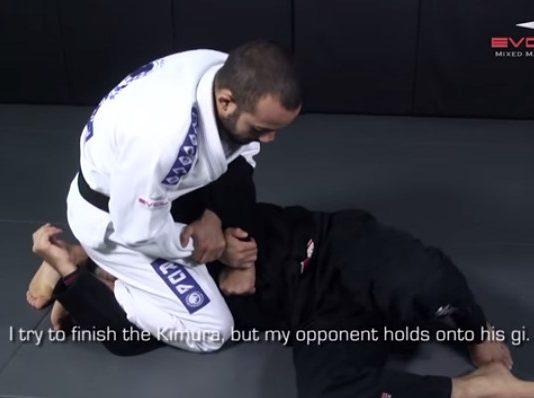 Counter Choke From Kimura