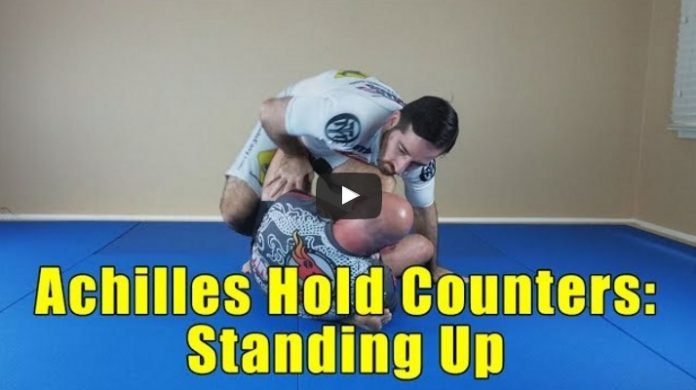 Achilles Hold and Straight Ankle Lock Counters