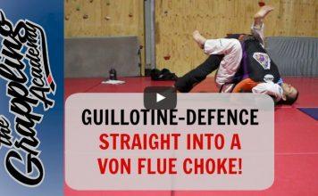 A Guillotine Defence Straight Into a Von Flue Choke – Tom Davey