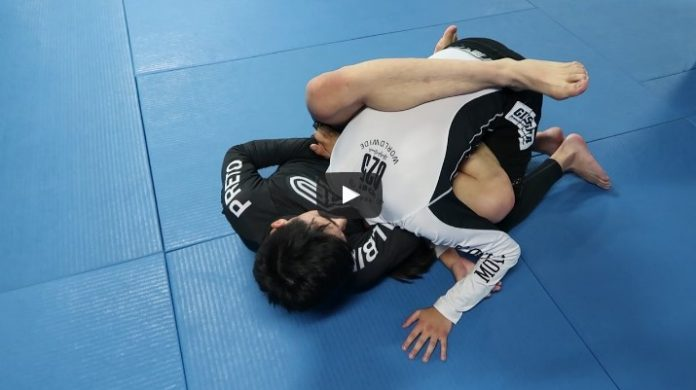 Alberto Serrano of Renzo Gracie Mexico shows an Arm in Guillotine vs Single Leg