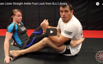 Straight Ankle Foot Lock - Dean Lister