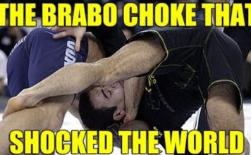 brabo Choke that tapped marcelo garcia