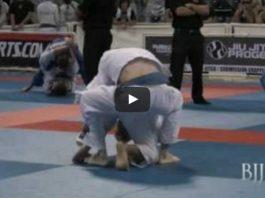 Awesome Blue belt match