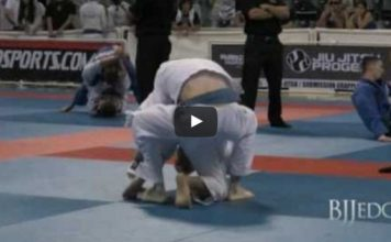 Awesome Blue belt match