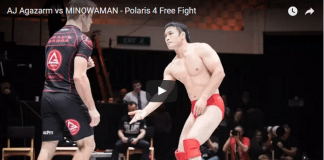 AJ Agazarm vs MINOWAMAN - Polaris 4 Free Fight