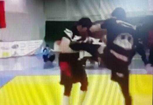 Armbar on someone who got single leg on you?