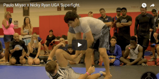 Paulo Miyao x Nicky Ryan UGA Superfight.