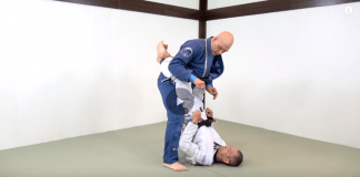 A Technique to Open Tough Closed Guard Learned from Marcelo Garcia