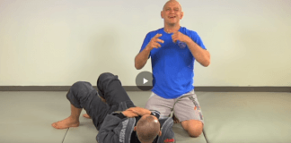 Escape the Triangle Choke from Guard