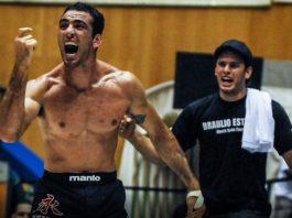 Braulio Estima vs Andre Galvao inverted Triangle ADCC 2009