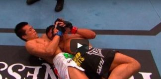 Breakdown on First Twister in UFC