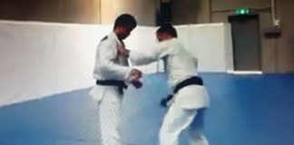 Very nice Ouchi Gari Instructional