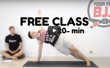 Yoga for BJJ Basic class
