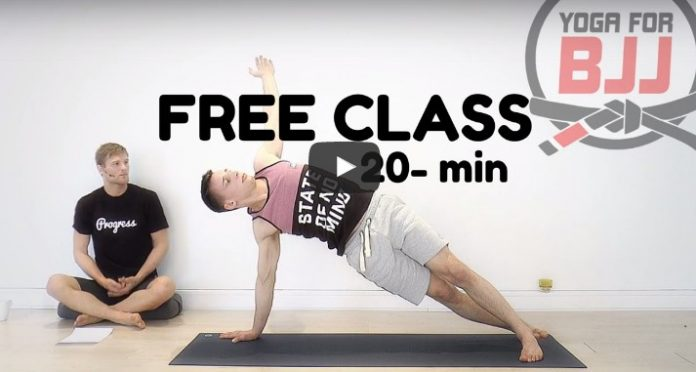 Yoga for BJJ Basic class
