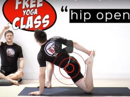 Yoga for BJJ - Hip Opening Stretching Sequence