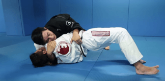 Arm Triangle Back Take