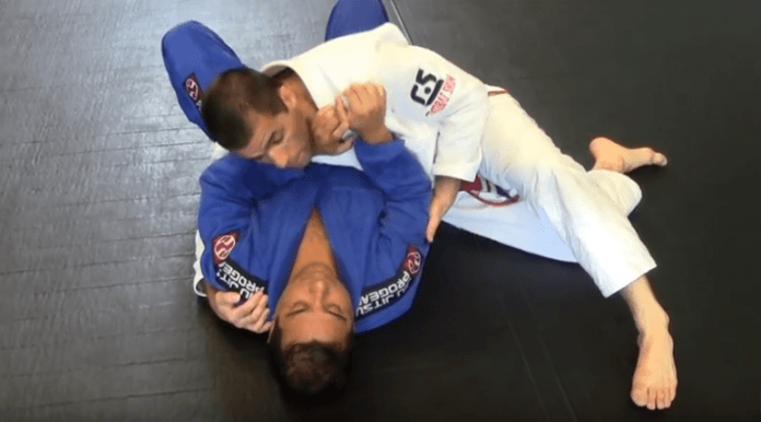 Back Take from Side Control and Collar Choke