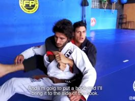 Back take option from Reverse De La Riva - Felipe Pena!