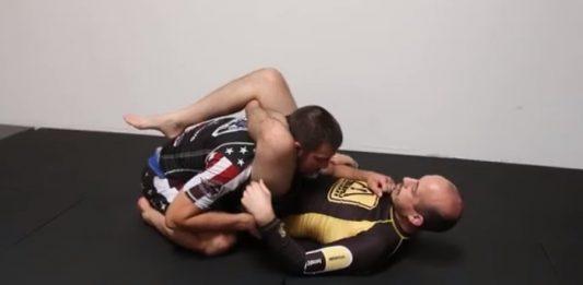 Garry Tonon - Triangle Escape With Leg Lock Finish