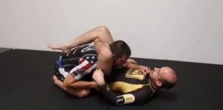 Garry Tonon - Triangle Escape With Leg Lock Finish