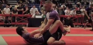 Conor Mcgregor competing in BJJ