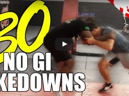 30 NO Gi Takedowns