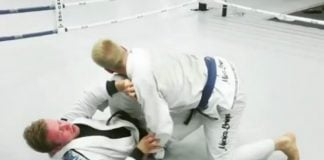 Kimura Trap Back take into armbar