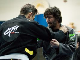 Keanu Reves Training for John Wick 2