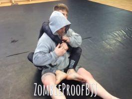 Aggressive Back Escape Kimura - ZombieProofBJJ