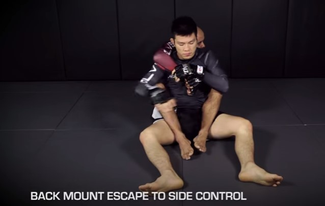 Shinya Aoki's 5 Ways To Escape The Back Mount