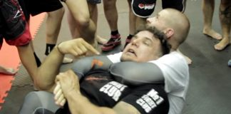 Rear Naked Choke escape by Frank Mir