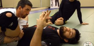 Painful Counter to Double Underhook Pass by Robert Drysdale