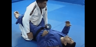 Lapel Choke from Closed Guard