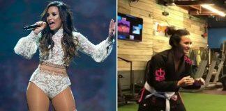 Demi Lovato about Brazilian Jiu Jitsu