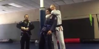 Instructors choke unconscious ther students after belt promotion