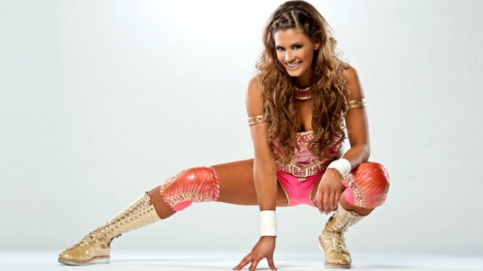 Eve Torres showing off her Jiu Jitsu skills