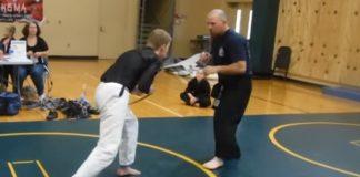 Jiu Jitsu Blue belt vs Hapkido Black belt 6th dan