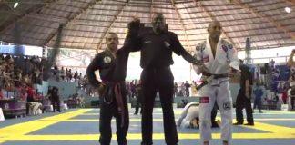 Purple Belt wins against Former UFC Champion Jose Aldo in Brasil Open Super Fight