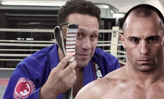 Renzo Gracie B**chslapped a guy who blew an air horn in His Ear