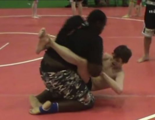 Skinny 16 year Old vs 300 lbs Guy - both skilled