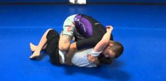 ADCC 2017 Winner Gordon Ryan shows Knee on Belly Back Take