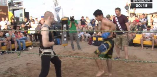 Brazilian Jiu Jitsu Fighter vs. Russian Karate Fighter