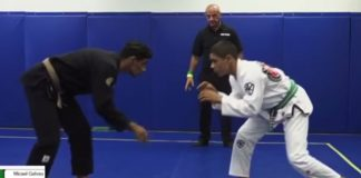 13 year old Green Belt Micael Galvao Beats Brown Belt adult Competitor.