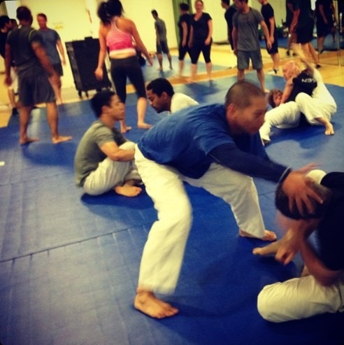 First BJJ Training in Google