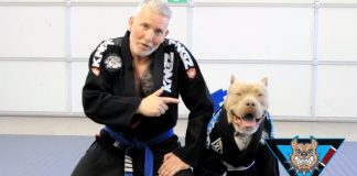 This Guy Grapplers with his Dog and drilling Techniques