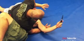 BJJ Black belt vs. Kali Knife Fighter