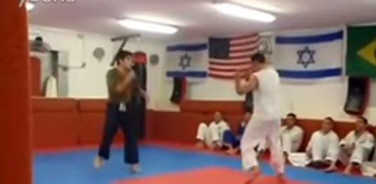 Karate Guy challenged BJJ Guy in a Bare Hands fight