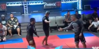 Fake Shake Hand in brazilian Jiu Jitsu to imanari roll to submission